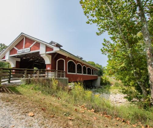 Hueston Woods Lodge Covered Bridge