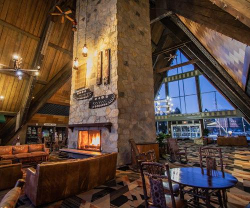 Hueston Woods Lodge Lobby